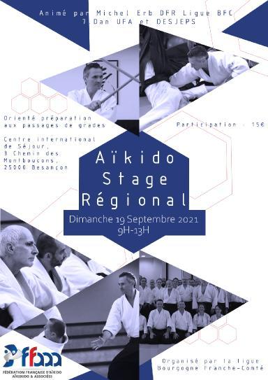 Aikido seminar poster