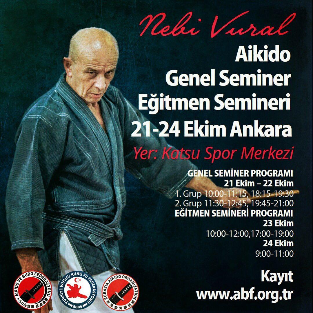 Nebi Vural Ankara Public & Trainer Seminar